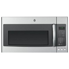 General Electric Over the Range Stainless Steel Microwave Oven with Steam Cook Button